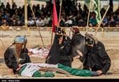 خوزستان| برنامههای تعزیه و روایتگری حادثه کربلا در هندیجان برگزار شد