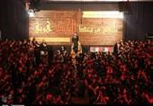 خوزستان| عزاداران حسینی میزبان یک شهید گمنام شدند+تصاویر