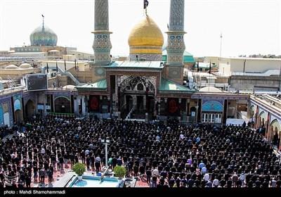 عزاداری روز عاشورا در حرم حضرت عبدالعظیم (ع) - شهر ری
