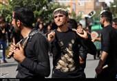 دستههای عزاداری روز عاشورا در بجنورد به روایت تصویر