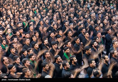 عزاداری عاشورای حسینی در مسجد حظیره یزد