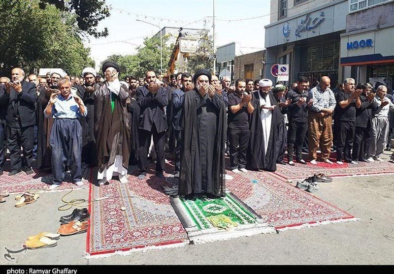 بزرگترین نماز جماعت شیعی در مسیر نجف به کربلا اقامه میشود