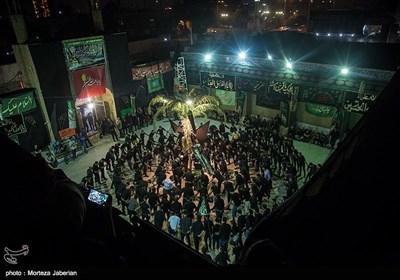 عزاداری شب تاسوعا در هیات بنادری های مقیم اهواز