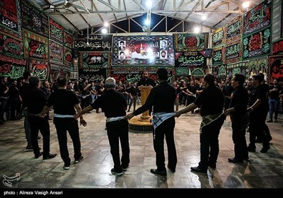 عزاداری شب تاسوعا در چهار محل بوشهر