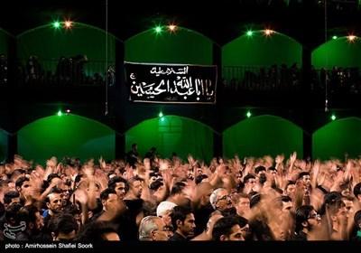 عزاداری در حسینیه شهدای مریم آباد یزد