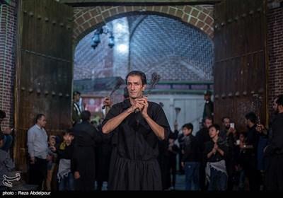عزاداری تاسوعای حسینی در بازار تبریز
