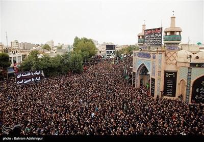 اجتماع عزاداران در روز تاسوعا - اردبیل