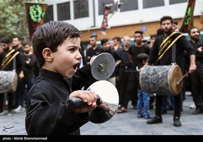 مراسم عزاداری تاسوعای حسینی در شهر ری