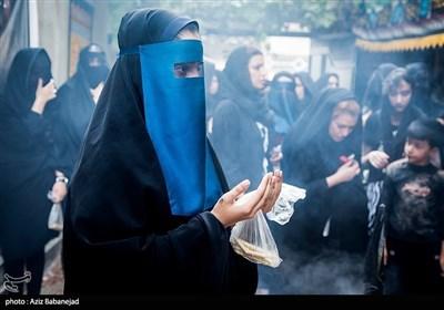 آیین چهل منبر در روز تاسوعای حسینی-خرم آباد
