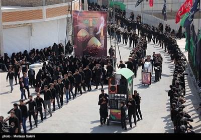 عزاداری عاشورای حسینی در مبارکه اصفهان