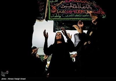 عزاداری ظهر عاشورا در حسینیه حاجیه مریم - بوشهر
