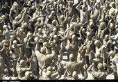 """آئینهای عزاداری هزاران ساله در کردستان؛ """"گِل مالی"""" خاکیترین آئین عاشورایی دنیا در بیجار+فیلم"""