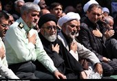 اجتماع بزرگ عزاداران حسینی در تبریز به روایت تصویر