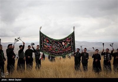عزاداری روز عاشورا در روستای بهل اهر