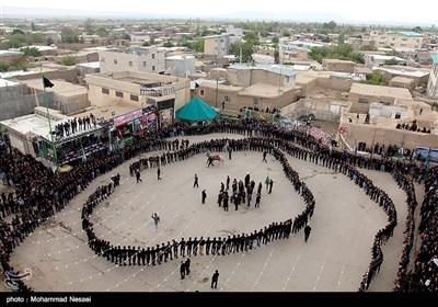 عزاداری روز عاشورا در روستای میغان و دیزج - سمنان