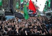 نوای یا حسین(ع) در پایتخت شور و شعور حسینی طنینانداز شد+ تصاویر