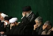 عزاداری شام غریبان سیدالشهدا (ع) در حضور رهبر معظم انقلاب