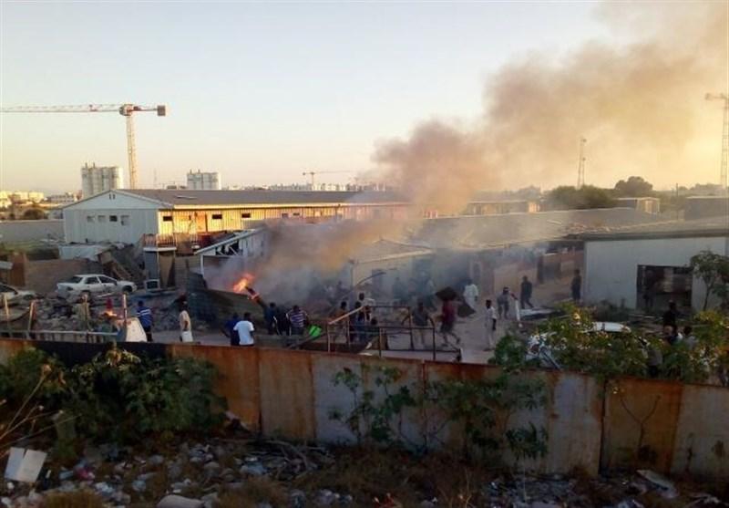 حملات پهپادی امارات به چندین منطقه در طرابلس