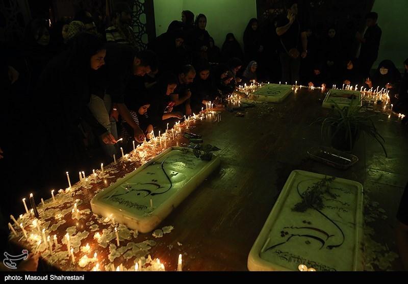 مراسم شام غریبان در میدان امام حسین(ع)