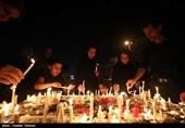 آئین شام غریبان شهدای کربلا در نقاط مختلف استان مرکزی برگزار شد