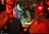 مراسم سنتی خیمه سوزان در اهواز