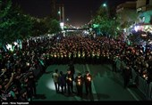 Ashura Evening Mourning Ceremony Observed in Iran's Mashhad