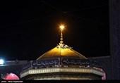 مراسم شب شهادت حضرت امام سجاد(ع) در حرم مطهر رضوی برگزار شد