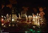 آئین شام غریبان حسینی در استان مرکزی به روایت تصویر