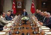 دیدار اردوغان با نمایندگان ترکمان عراق