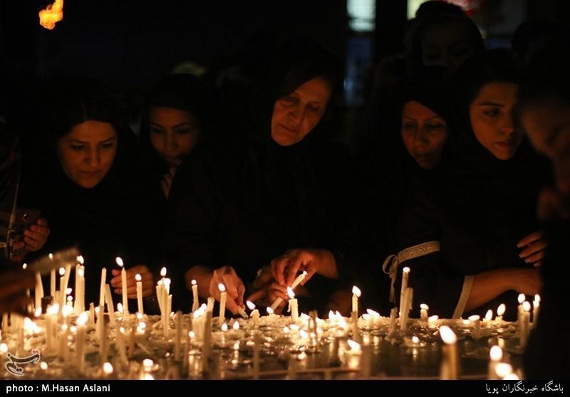 شام غریبان حسینی شهدای دشت نینوا در بوشهر برگزار شد