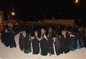 نوای جان سوز زنان محرومترین منطقه ایران در سوگ امام حسین(ع) به روایت تصویر