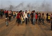 فلسطین|یک شهید و 312 زخمی در راهپیمایی شکستن محاصره/ برگزاری راهپیمایی «انتفاضه الاقصی» در جمعه آینده