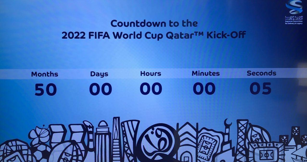 50ماه مانده به آغاز جام جهانی2022قطر+عکس