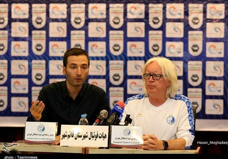 مازندران| وینفرد شفر: خوشحالم داور بازی فردا ایرانی است نه سنگاپوری/ نظر من مهم است، نه فضای مجازی