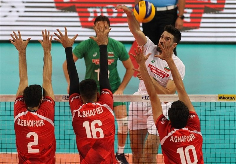Bulgaria Defeats Iran at FIVB Volleyball World Championship