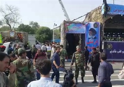 People Killed in Terrorist Attack during Parades in Southwestern Iran