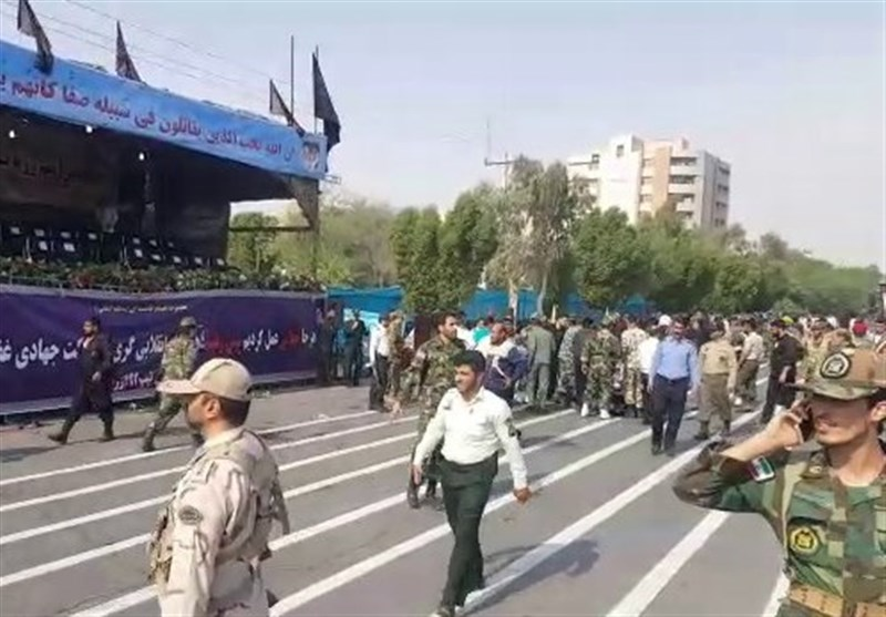 Terrorist attack at Iranian military parade kills at least 10