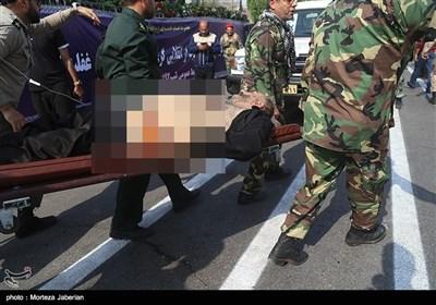اہواز میں فوجی پریڈ پر دہشت گردوں کا حملہ، سپاہ پاسداران کے 20 اہلکار شہید اور 22زخمی+ تصاویر