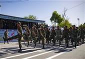 دفاع مقدس کی مناسبت سےایرانی مسلح افواج کی شاندار پریڈ