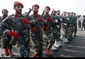 رژه نیروهای مسلح استان یزد برگزار شد