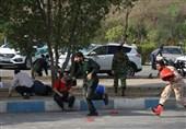 اولین فیلم از دستگیری عاملان پشتیبانی حملات تروریستی اهواز