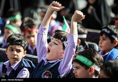 جشن شکوفهها در دبستان شهید امیریکیا