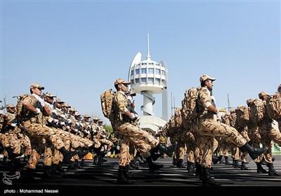 مراسم رژه نیروهای مسلح درگرگان