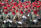 برگزاری رژه نیروهای مسلح در کرمانشاه به روایت تصویر