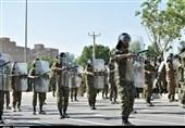 خوزستان  نمایش اقتدار نیروهای مسلح در بهبهان به روایت تصاویر