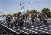 رژه نیروهای مسلح استان یزد به روایت تصویر