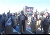 رژه نیروهای مسلح کهگیلویه و بویراحمد به روایت تصویر