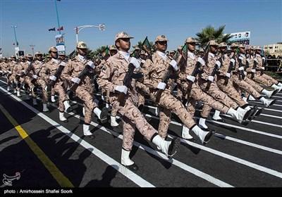 مراسم رژه نیروهای مسلح در یزد