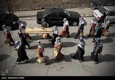 حرکت نمادین کاروان طایفه بنی اسد در همدان