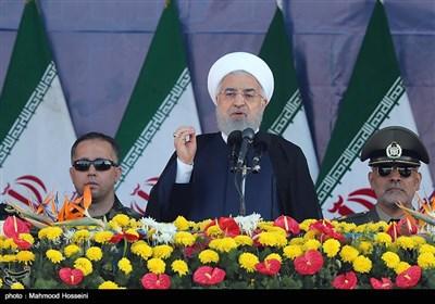 مراسم رژه نیروهای مسلح در تهران
